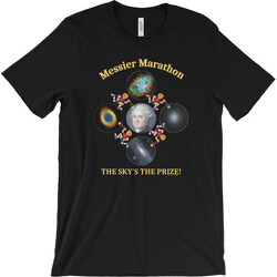 Messier Marathon The Sky's The Prize T-shirt