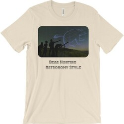 Bear Hunting Astronomy Style T-shirt - light