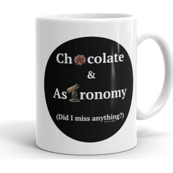 11oz Chocolate and Astronomy  Mug