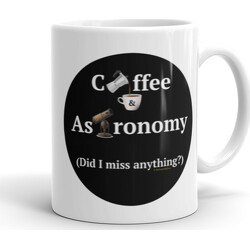 Coffee and Astronomy  Mug
