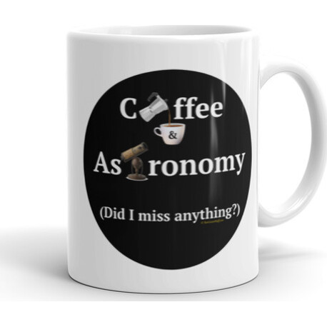 11oz Coffee and Astronomy  Mug