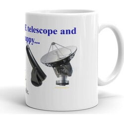Just One More Telescope and I'll Be Happy ... Maybe  Mug