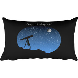 Keep Looking Up! Rectangular Pillow