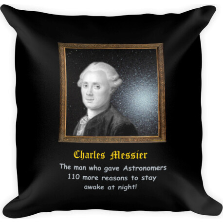 Charles Messier 110 Reasons  Square Pillow
