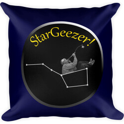 StarGeezer!  Square Pillow