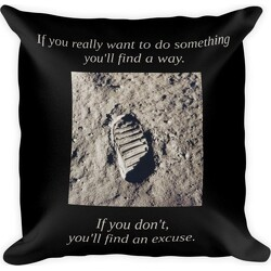 Find a Way Square Pillow
