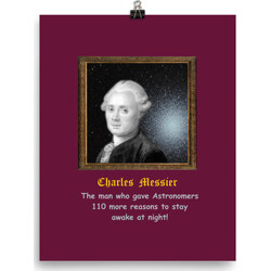 Charles Messier 110 Reasons  poster