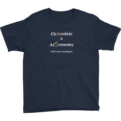 Youth Chocolate and Astronomy T-Shirt