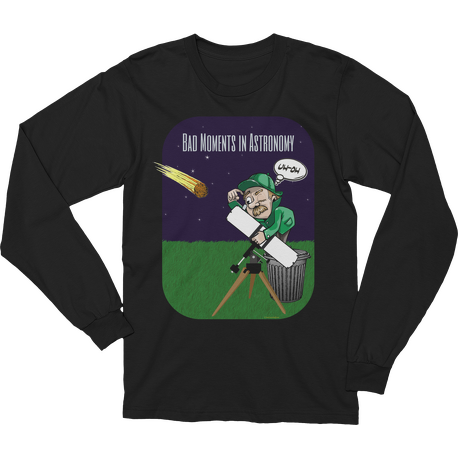 Bad Moments in Astronomy Long Sleeve T-shirt