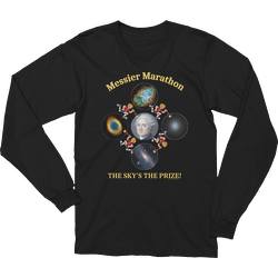 Messier Marathon The Sky's The Prize Long Sleeve T-shirt