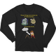 Three Things Certain for the Astronomer (Death, Taxes, Clouds) Long Sleeve T-shirt