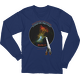 When I look at the heavens ... Higher Power Psalm 8 Long Sleeve T-shirt