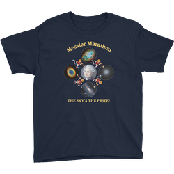 Messier Marathon The Sky's The Prize Youth T-shirt