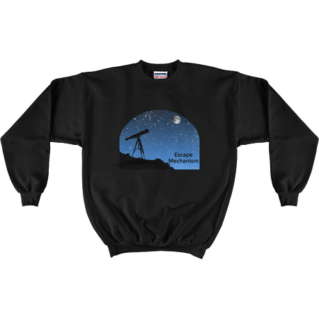 Black Escape Mechanism Sweatshirt