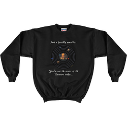 Friendly Reminder Center of Universe Sweatshirt