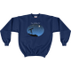 Navy Keep Looking Up! Sweatshirt