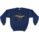 Navy Man and Stars Psalm 19 Sweatshirt