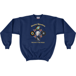 Messier Marathon The Sky's The Prize Sweatshirt