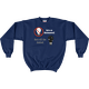 Navy Save an Astronomer!  Turn off the lights! Sweatshirt