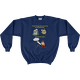 Navy Three Things Certain for the Astronomer (Death, Taxes, Clouds) Sweatshirt