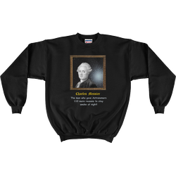 Charles Messier 110 Reasons Sweatshirt