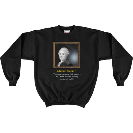 Black Charles Messier 110 Reasons Sweatshirt