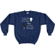 Navy Stars Triumph Turn Off the Lights Sweatshirt