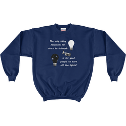 Stars Triumph Turn Off the Lights Sweatshirt
