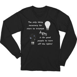 Stars Triumph Turn Off the Lights Long Sleeve T-shirt