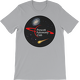 Silver PAC Logo with Galaxy and Meteor Short Sleeve T-shirt