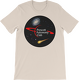Cream PAC Logo with Galaxy and Meteor Short Sleeve T-shirt