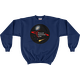 Navy PAC Logo with Galaxy and Meteor Sweatshirt