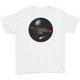 White PAC Logo with Galaxy and Meteor Youth T-shirt