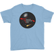 LightBlue PAC Logo with Galaxy and Meteor Youth T-shirt
