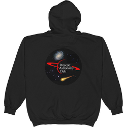 PAC Logo with Galaxy and Meteor Hoodie