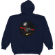Navy PAC Logo with Galaxy and Meteor Hoodie