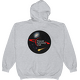 Grey PAC Logo with Galaxy and Meteor Hoodie