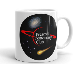 PAC Logo with Galaxy and Meteor Mug