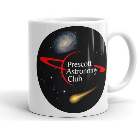 11oz PAC Logo with Galaxy and Meteor Mug
