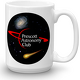 15oz PAC Logo with Galaxy and Meteor Mug