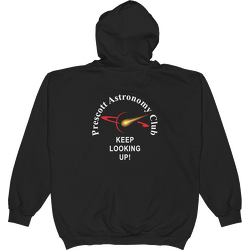 Black PAC Keep Looking Up Hoodie