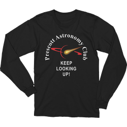 Black PAC Keep Looking Up Long Sleeve T-shirt