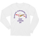 White PAC Keep Looking Up Long Sleeve T-shirt