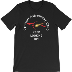 Black PAC Keep Looking Up Short Sleeve T-shirt