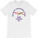 White PAC Keep Looking Up Short Sleeve T-shirt