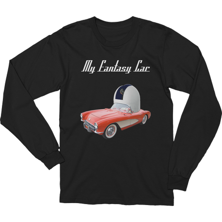 Black My Fantasy Car Long Sleeve T-shirt