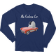 Navy My Fantasy Car Long Sleeve T-shirt