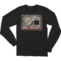 The Rolled-away Stone Long Sleeve T-shirt