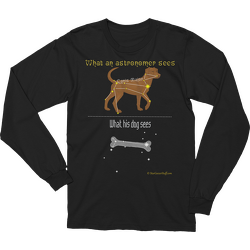 Canis Major Long Sleeve T-shirt
