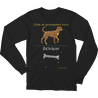Black Canis Major Long Sleeve T-shirt